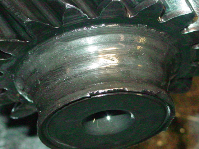 failed pinion bearing
