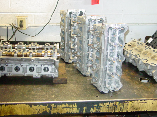 heads waiting to be built